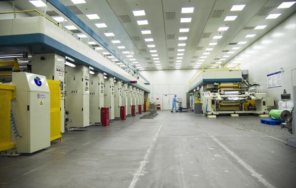 十万级净化车间生产区域