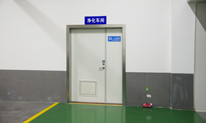 十万级净化车间入口